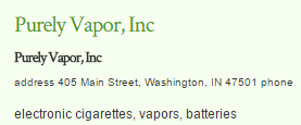 Purely Vapor, Inc.