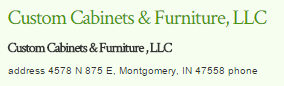 Custom Cabinets & Furniture LLC