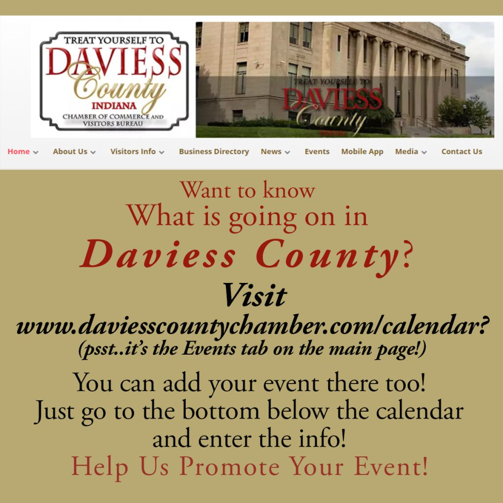 Add your event to our Calendar!