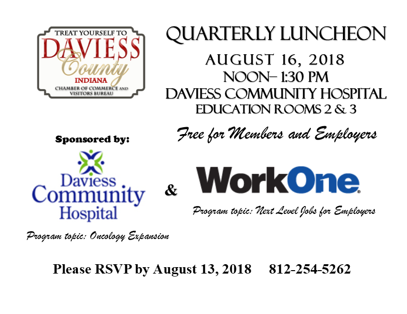 New Member Lunch on August 16th!