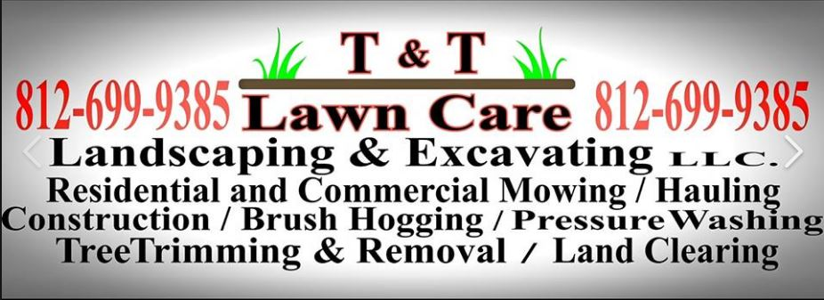 t & t lawn care, excavating and landscaping