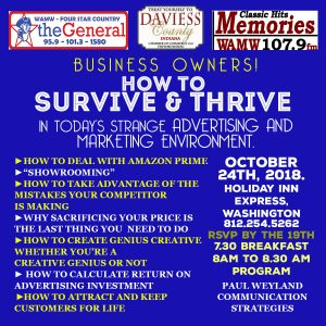 How to Survive and Thrive in Business 2018